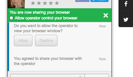 HelpOnClick Co-broswsing