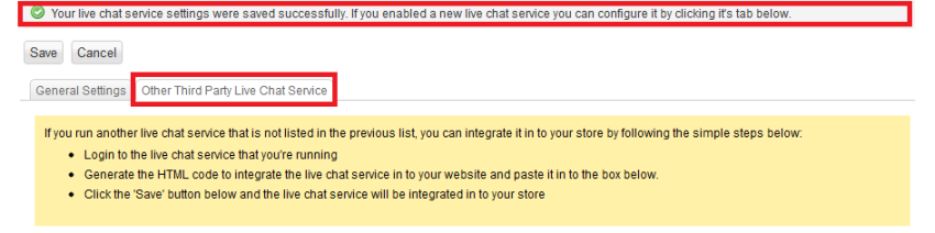 Add live chat code for BigCommerce - HelpOnClick