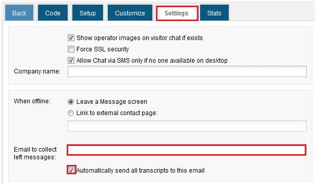 Forward HelpOnClick transcript emails to your Zoho Help Desk